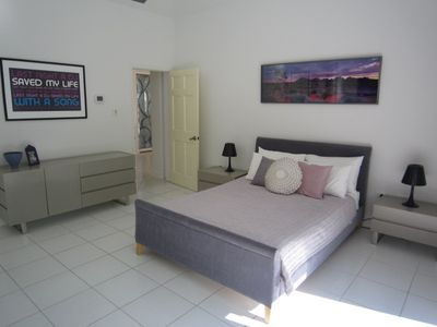 Grand Cayman villa rental - Bed 2 with views over the beach and ocean
