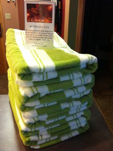 Silver Mill 8210 has beach towels for use at the pool or hot tubs.