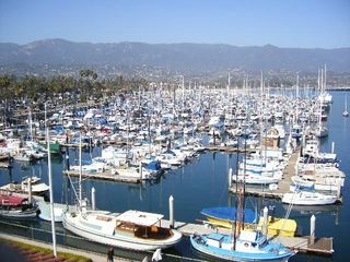Santa Barbara studio photo - Harbor from above by city college