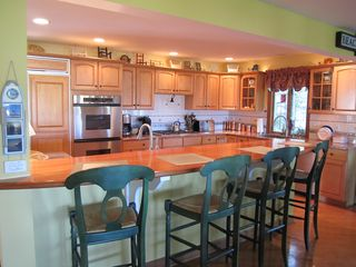 Kitchen Counter Bar Area - Saugatuck / Douglas townhome vacation rental photo