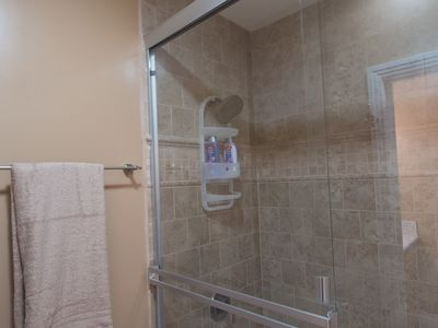 Master Shower and Jet tub