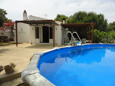 House surrounded by nature and 1000m2 garden, private pool close Cala Blanca beach (2Km) – Free Internet - 6 people