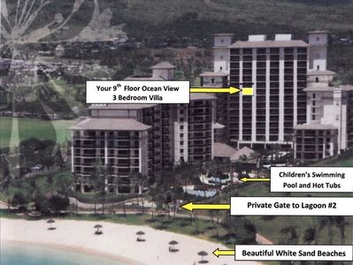 Layout of Penthouse Property and Amenities