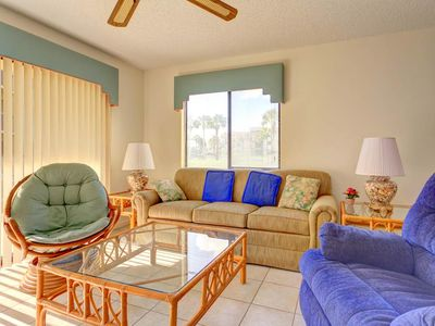 We want your Florida vacation to be as perfect as possible! - Ocean Village Club provides everything you need for a smooth Florida vacation! A fully-equipped kitchenette, all linens and towels, and washer & dryer access!
