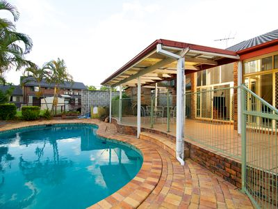 Executive Family Home with sparkling inground Pool and Panoramic views