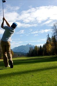 One of Canada's top golf courses, five minuets from the door