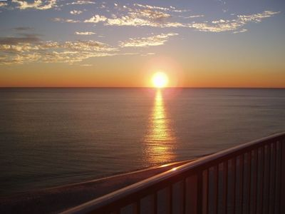 Enjoy gorgeous sunsets from your private balcony!