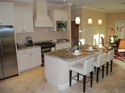 Beautiful Open Granite Kitchen