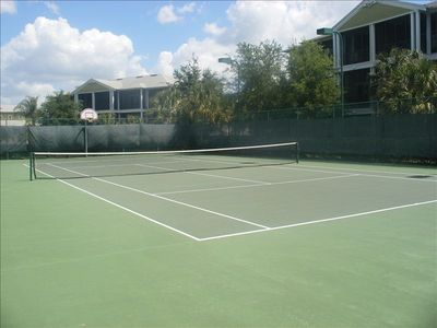 Tennis courts - easy access directly across from the condo.