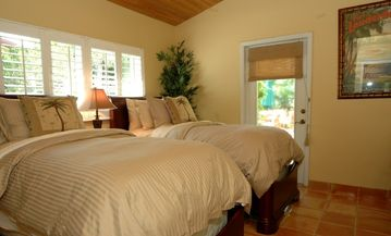 Twin Bedroom with Pillow Top Mattresses