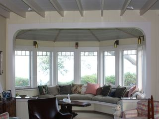 Gloucester - Annisquam house photo - A view of the ocean from one of our main floor rooms.