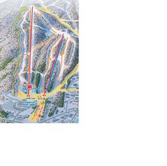 Mount Snow condo photo - Mount Snow - Carinthia Trail Map