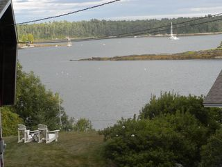 Great Island cottage photo - View to Quohog Bay