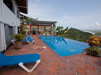 Expansive Pool and Deck area of Casa Azul