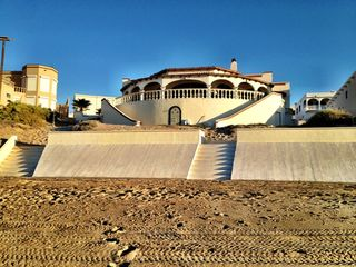 Puerto Penasco house photo - Sea Wall and Steps to the Beach.