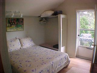 Dennisport cottage photo - Queen Size Bed - Back Door to Your Private Patio