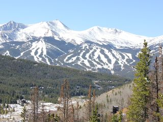 Frisco house photo - View of Breck Ski Slopes Oct 12 2011 at Mini Mine Trail