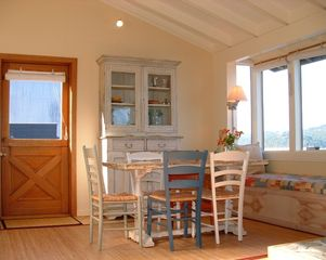 Point Reyes Station cottage photo - Perfect for relaxed dining & entertaining