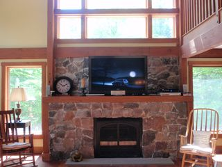 Thornton barn photo - Gas fireplace