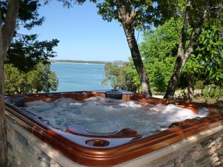 Canyon Lake house photo - Relaxing 8 Person Hot Tub