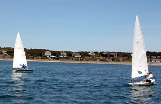 Wellfleet house photo - Sail from Powers Landing across the Bay
