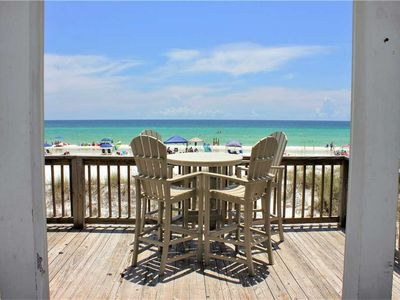 Comfortable Beach Front Townhome Perfect for a Family Vacation!