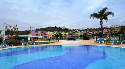 Albufeira Town and Marina apartment rental - Communal Pool