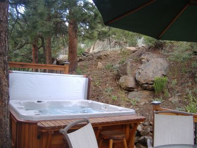 Estes Park house rental - Beautiful, Private Mountain Setting for Hot Tub