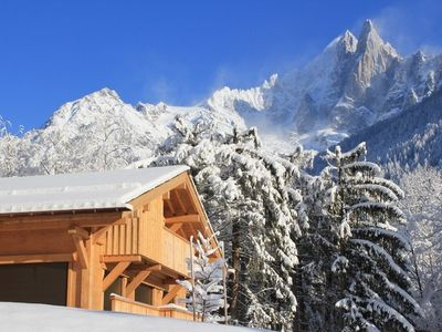 Chamonix chalet rental - Chalet des Liarets 4 in Winter