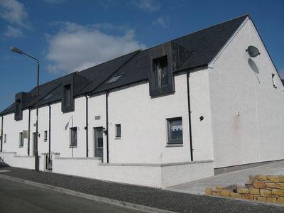 Stirling & Falkirk area cottage rental - Milton Hayloft; a mid terraced property in village