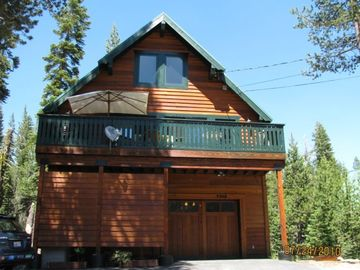Soda Springs house rental - Front View, Summer