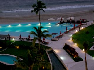 Ixtapa condo photo - night view from terrace