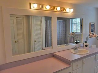 Vineyard Haven house photo - Master Bath Has Make-up Area, Tub & Shower