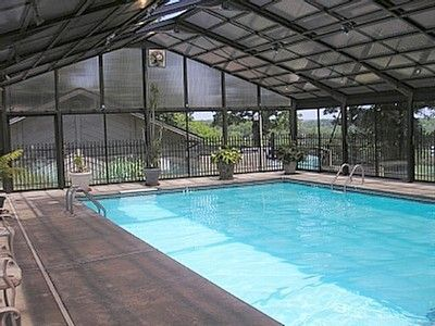 Branson condo rental - Year round indoor heated pool.