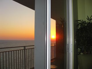 Splash Resort condo photo - Watch wonderful sunsets from the living room or the balcony.