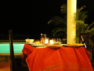 Samana villa photo - or for dinner