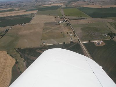 home with private air field