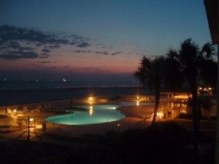 Gulf Shores condo photo - Pool at Night