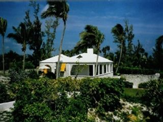 Governor's Harbour estate rental - View of main house, 16 acres of complete privacy.