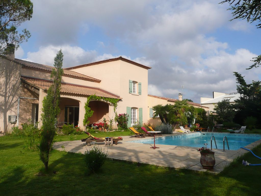 Peaceful house, with pool , Baillargues, Languedoc-Roussillon