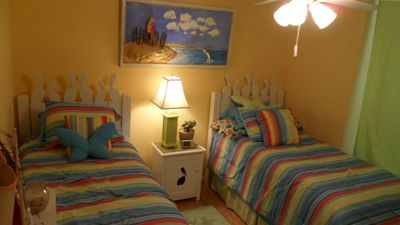 Kids room with trundle beds