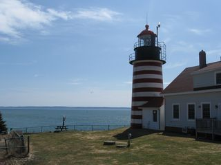 Lubec cottage photo - West Quoddy Lighthouse