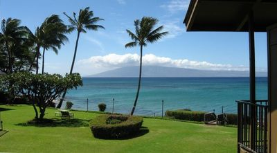 Beautiful Ocean View from our lanai towars the Island of Lanai