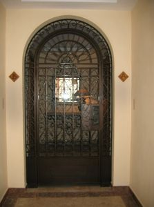 Your private entry gate into your Villa