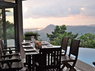 Ojochal villa photo - The view from the Dining Room!!!
