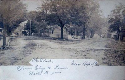 Old New Hope Post Card Courtesy of New Hope Historical Society Ed Hild President