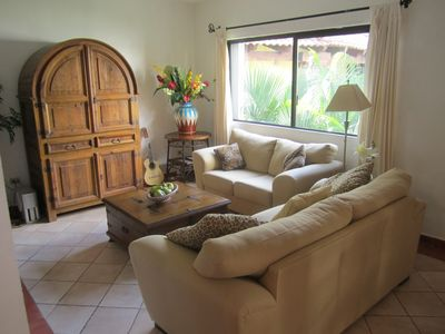 Playa del Carmen condo rental - Living Room