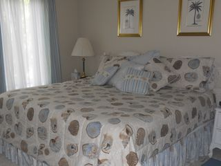 Port Royal villa photo - Comfortable Master bedroom features a King bed and private bath.