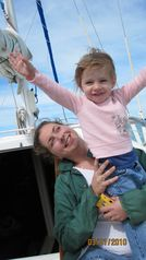 Key West yacht photo - Fun for sailors of all ages. Moms and Dads bring kids for a wonderful vacation.