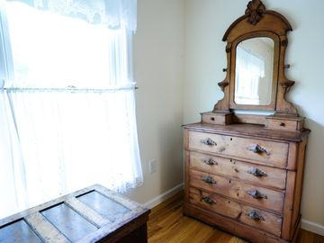 Dresser in second floor master suite.